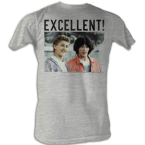 Image for Bill & Ted's Excellent Adventure T-Shirt - 4 Square