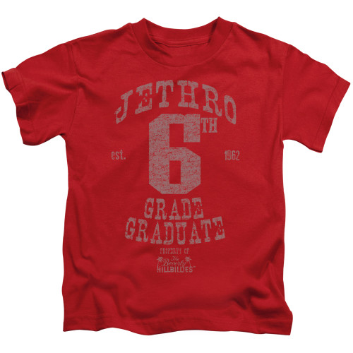 Image for The Beverly Hillbillies Kids T-Shirt - Mr. 6th Grade Grad
