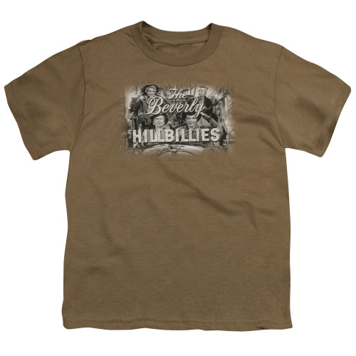 Image for The Beverly Hillbillies Youth T-Shirt - Logo