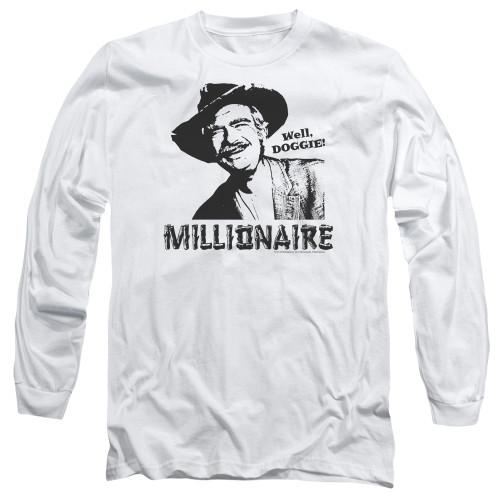Image for The Beverly Hillbillies Long Sleeve T-Shirt - Millionaire