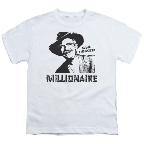 Image for The Beverly Hillbillies Youth T-Shirt - Millionaire