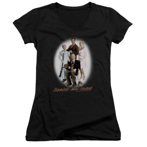 Image for The Beverly Hillbillies Girls V Neck T-Shirt - Sophistimacated