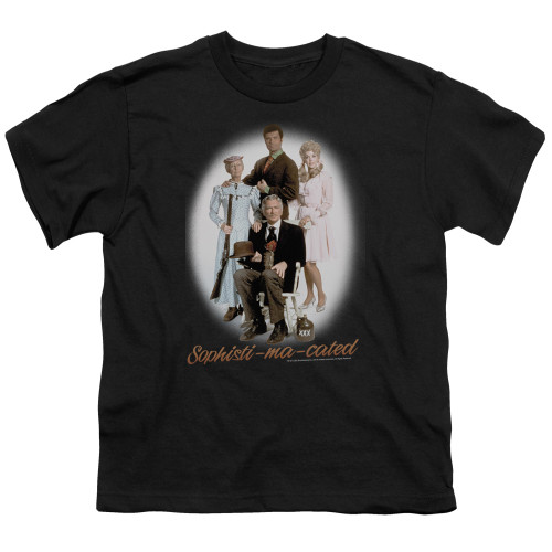 Image for The Beverly Hillbillies Youth T-Shirt - Sophistimacated