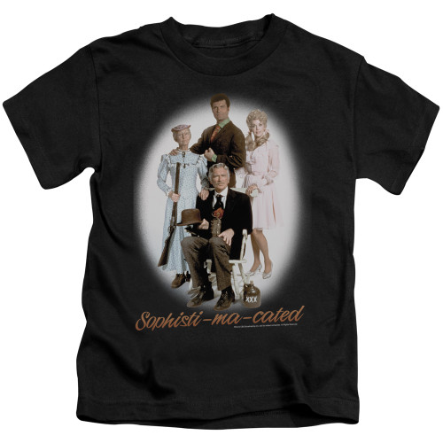 Image for The Beverly Hillbillies Kids T-Shirt - Sophistimacated