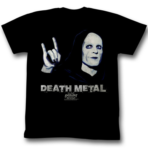 Image for Bill & Ted's Excellent Adventure T-Shirt - Death Metal