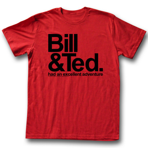 Image for Bill & Ted's Excellent Adventure T-Shirt - An Excellent Adventure