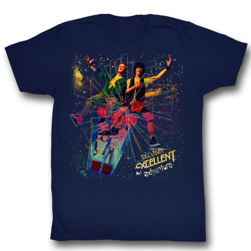 Image for Bill & Ted's Excellent Adventure T-Shirt - Space