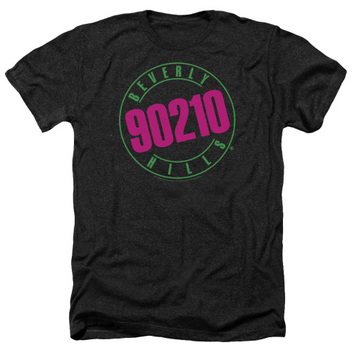 Image for Beverly Hills, 90210 Heather T-Shirt - Neon