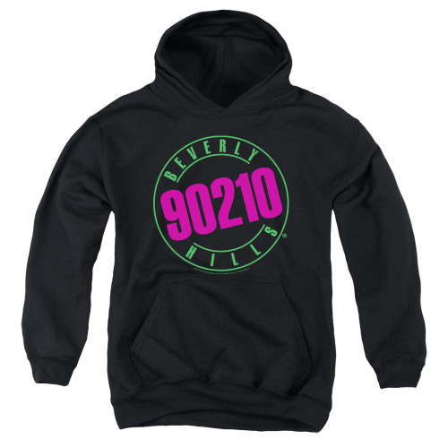 Image for Beverly Hills, 90210 Youth Hoodie - Neon