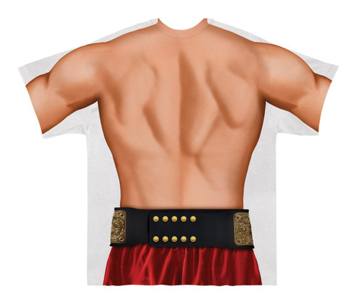 Image Closeup for Wrestler Costume Sublimated T-Shirt