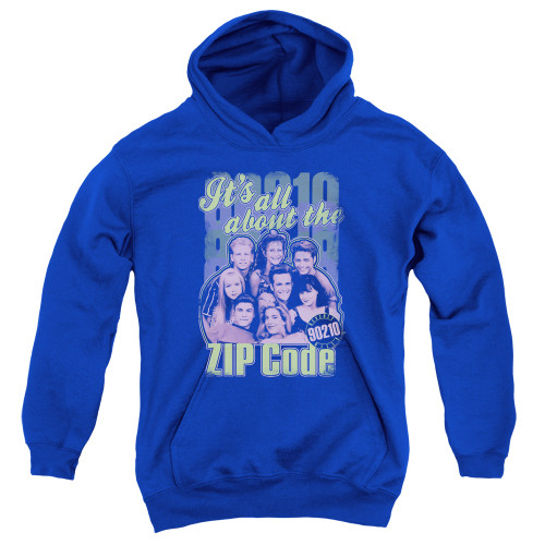 Image for Beverly Hills, 90210 Youth Hoodie - Zip Code