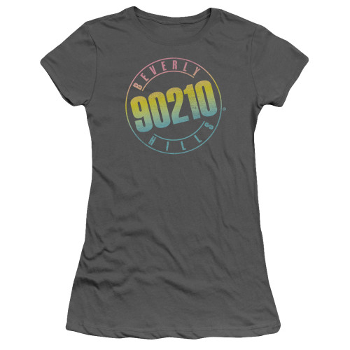 Image for Beverly Hills, 90210 Girls T-Shirt - Color Blend Logo