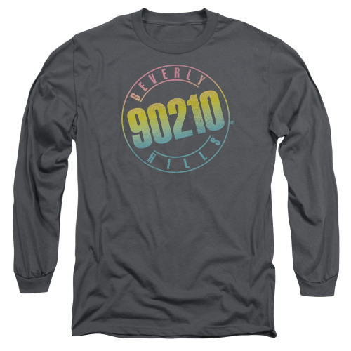 Image for Beverly Hills, 90210 Long Sleeve T-Shirt - Color Blend Logo