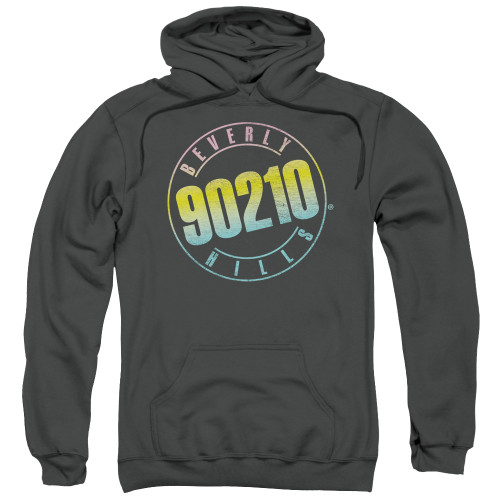 Image for Beverly Hills, 90210 Hoodie - Color Blend Logo