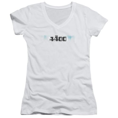 Image for The 4400 Girls V Neck T-Shirt - Logo