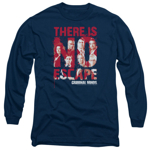 Image for Criminal Minds Long Sleeve T-Shirt - No Escape