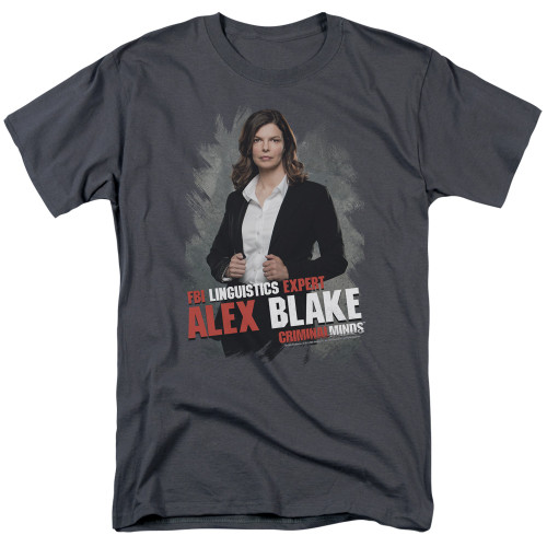 Image for Criminal Minds T-Shirt - Alex Blake
