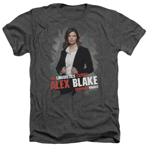 Image for Criminal Minds Heather T-Shirt - Alex Blake