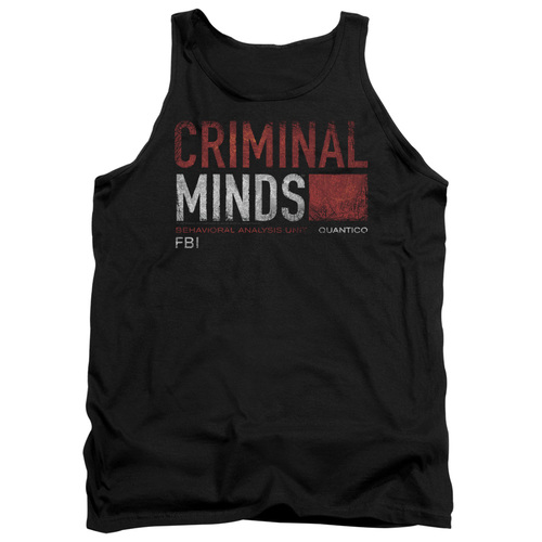 Image for Criminal Minds Tank Top - Title Card