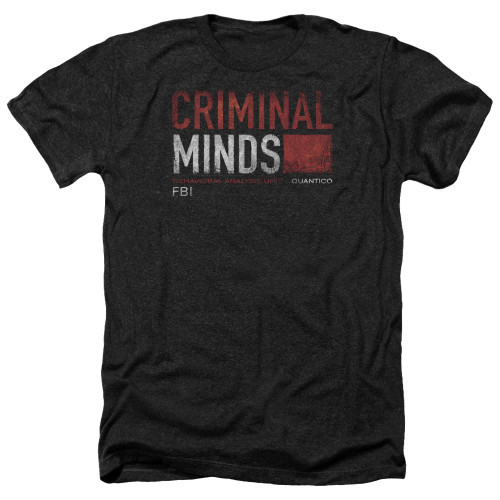 Image for Criminal Minds Heather T-Shirt - Title Card