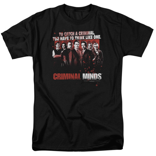 Image for Criminal Minds T-Shirt - Think Like One