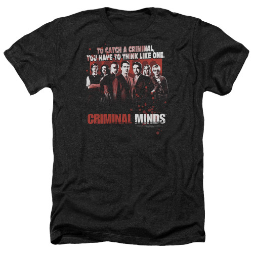 Image for Criminal Minds Heather T-Shirt - Think Like One