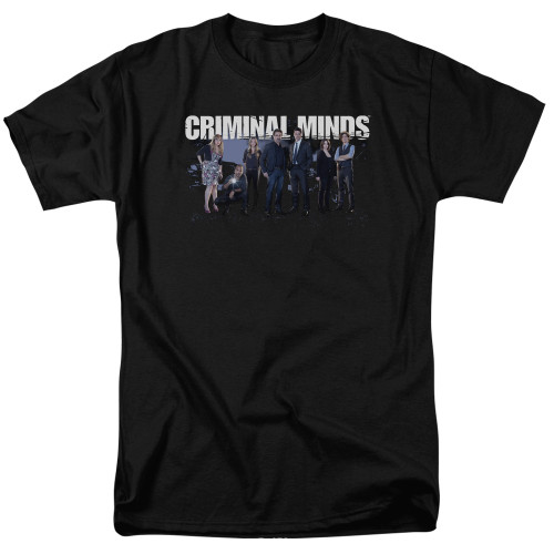 Image for Criminal Minds T-Shirt - Season 10 Cast