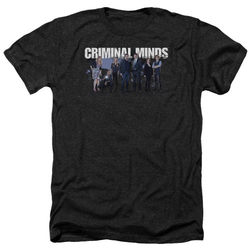 Image for Criminal Minds Heather T-Shirt - Season 10 Cast