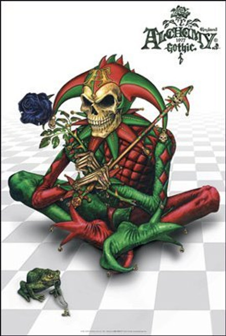 Image for Alchemy Gothic Poster - Dark Fool