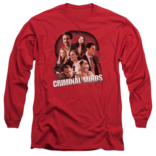 Image for Criminal Minds Long Sleeve T-Shirt - Brain Trust