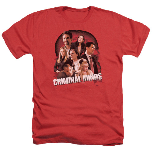 Image for Criminal Minds Heather T-Shirt - Brain Trust