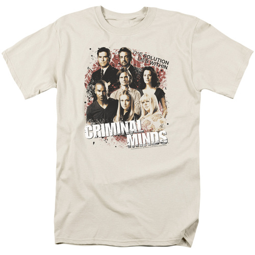 Image for Criminal Minds T-Shirt - The Solution Lies Within