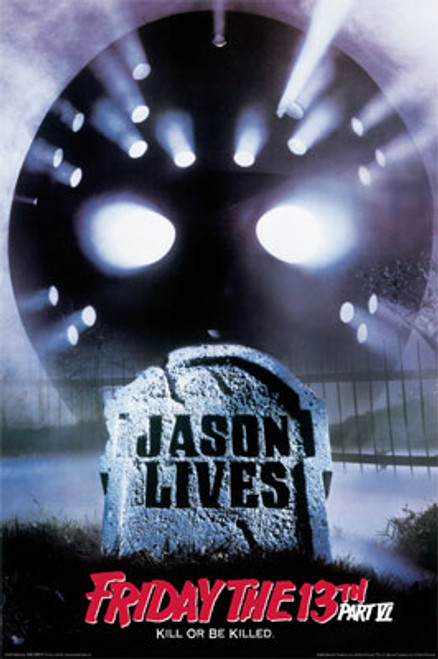 Image for Friday the 13th Part VI Poster - Jason Lives