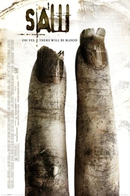 Image for Saw II Poster - 2 Finger Sheet