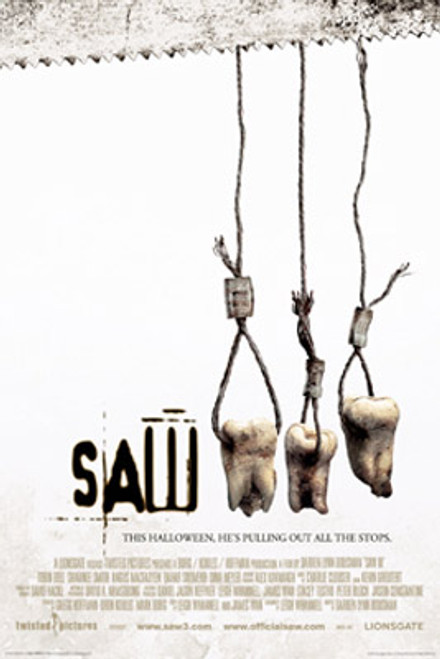 Image for Saw III Poster - One Sheet