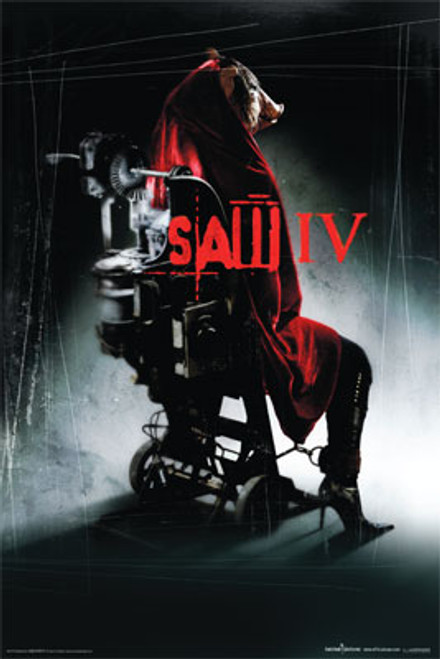 Image for Saw IV Poster - Pig