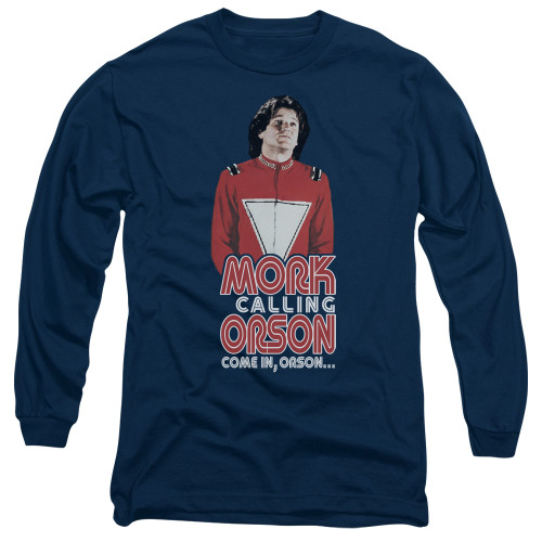 Image for Mork & Mindy Long Sleeve T-Shirt - Come in Orson