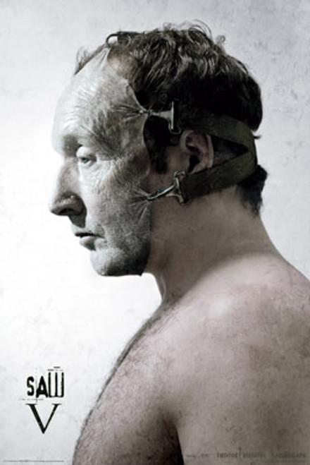 Image for Saw V Poster - Mask