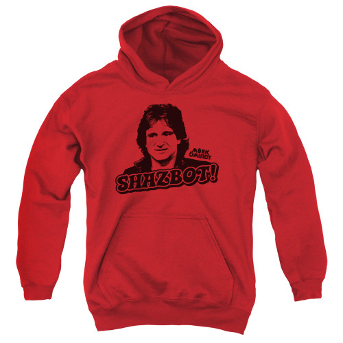 Image for Mork & Mindy Youth Hoodie - Shazbot