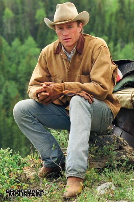 Brokeback Mountain Poster - Heath
