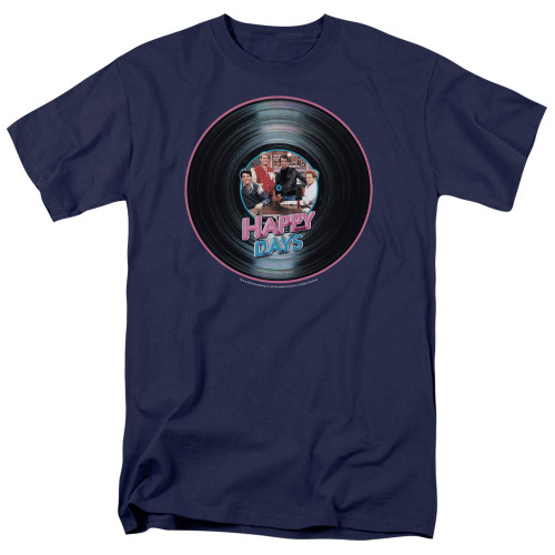 Image for Happy Days T-Shirt - On the Record