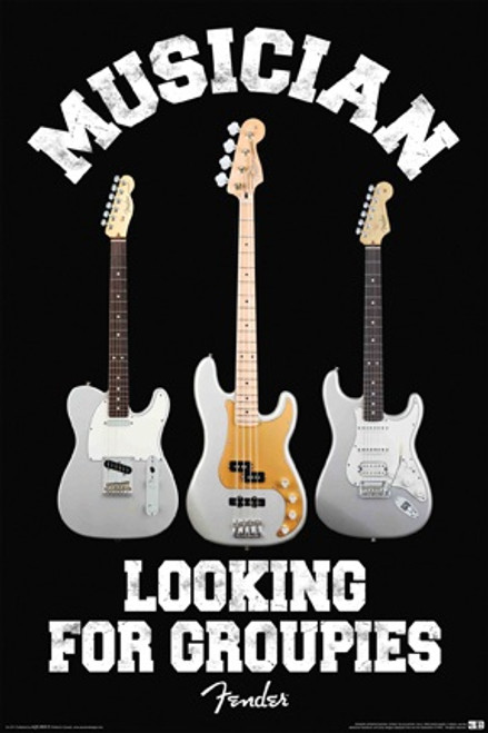 Image for Fender Poster - Groupies
