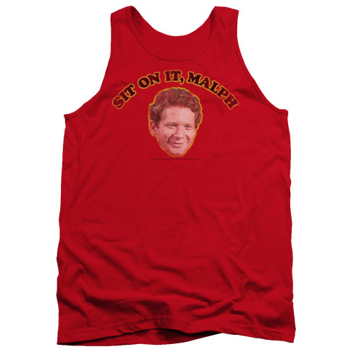 Image for Happy Days Tank Top - Sit on It Malph