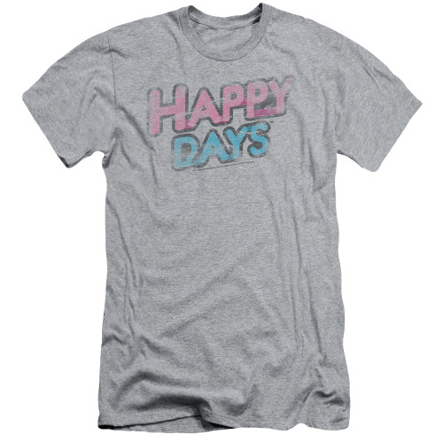 Image for Happy Days T-Shirt - Distressed
