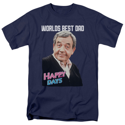 Image for Happy Days T-Shirt - Best Dad