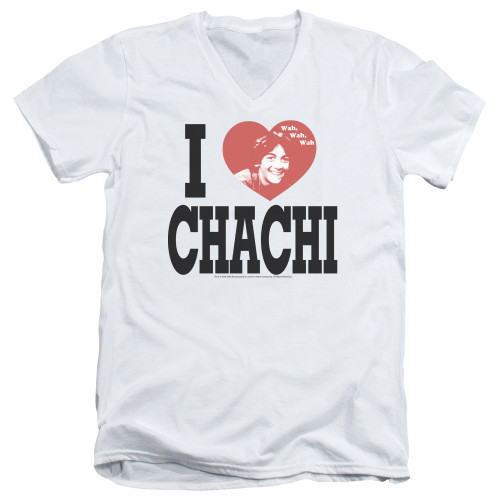 Image for Happy Days T-Shirt - V Neck - I Heart Chachi