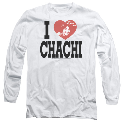 Image for Happy Days Long Sleeve T-Shirt - I Heart Chachi