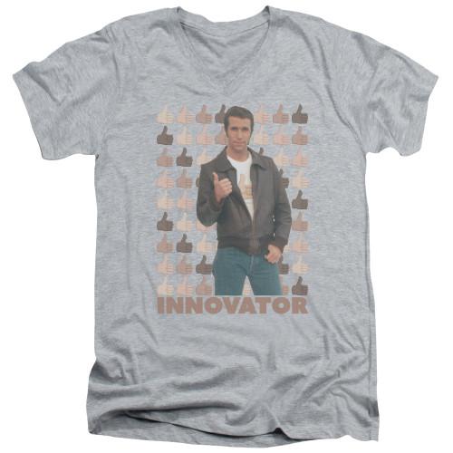 Image for Happy Days T-Shirt - V Neck - Innovator