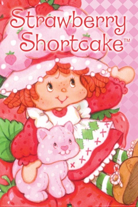 Image for Strawberry Shortcake Poster - Cute