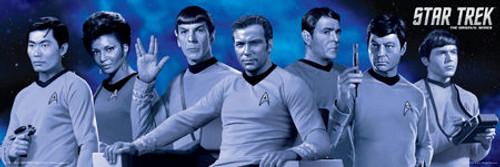 Image for Star Trek Poster - Duotone Crew